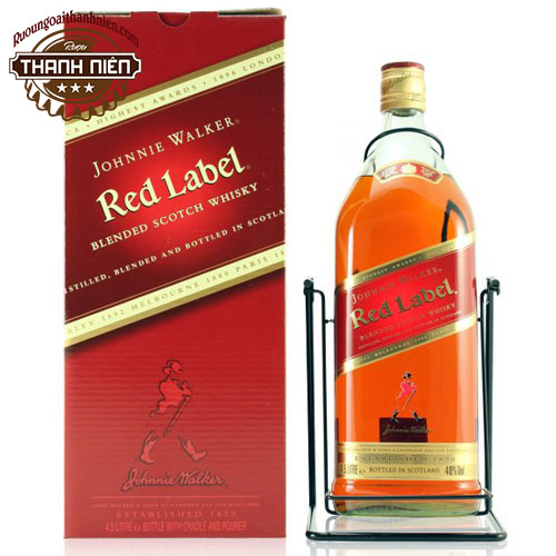 Rượu Johnnie Walker Red 3 Lít - ruoungoaithanhnien.com