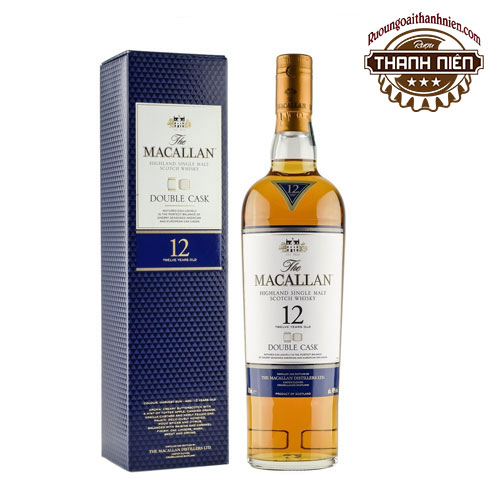 Rượu Macallan 12 Double Cask