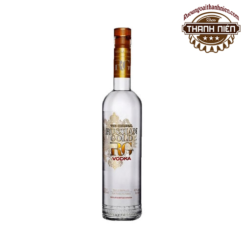 Rượu Vodka Russian Gold 500ml - ruoungoaithanhnien.com