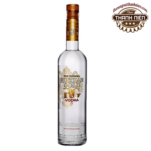 Rượu Vodka Russian Gold 750ml - ruoungoaithanhnien.com