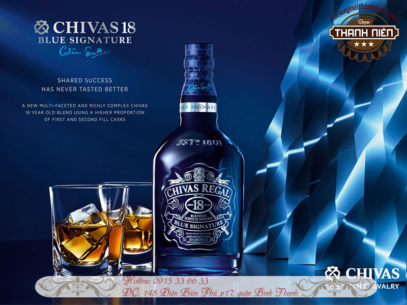Chivas 18 Blue Signature